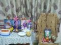 ఆరాధన కార్యక్రమాలు పాకలపటి సరస్వతి గారీ ఇంటిలో  విజయనగరం శాఖ