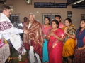 Felicitation by Swamy to Thangella Veeraboga Vasantharayudu