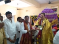 Felicitation to Swamy by Yeggina Nagababu, BJP State Committee member.