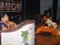 24-11-18 న విజయవాడలో మొగలరాజపురం సిద్దార్ధ కాలేజీ అఫ్ ఆర్ట్స్ అండ్ సైన్స్ కళాశాల ఆడిటోరియంలో ఏర్పాటు చేసిన జ్ఞాన చైతన్య సదస్సులో పీఠాధిపతి డా.ఉమర్ ఆలీషా స్వామి, కన్వీనర్ వంగర రేణుక గారు