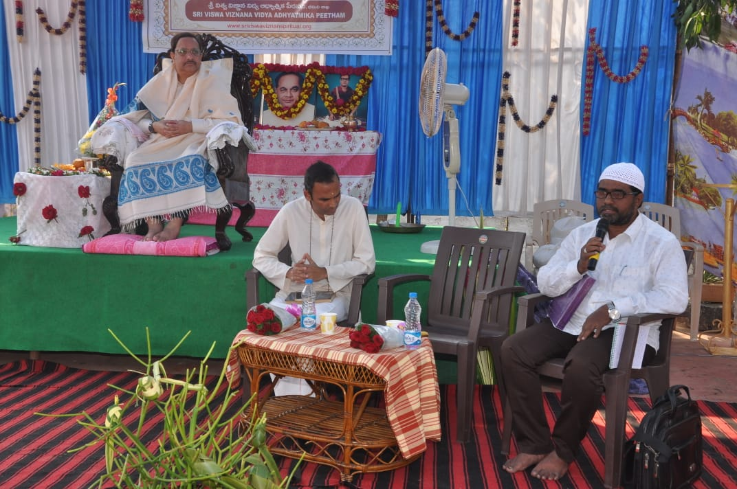 Speech by Mr. Makbul Jamate Hind Islami member.