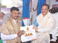 Memento to  Mr. P.V.N. Madhav MLC Visakhapatnam.