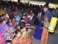 Children doing Seva (Water Service) at Mahasabalu