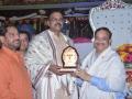 Sathguru honouring Sri V.V.Lakshmi Narayana (Additionl Director General of Police, Mumbai)