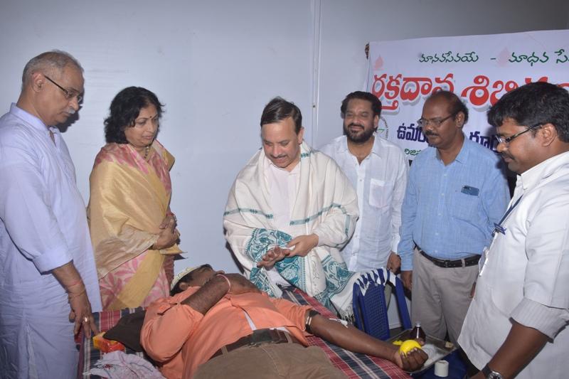 Blood donation camp in Ugadi Sabha (2)
