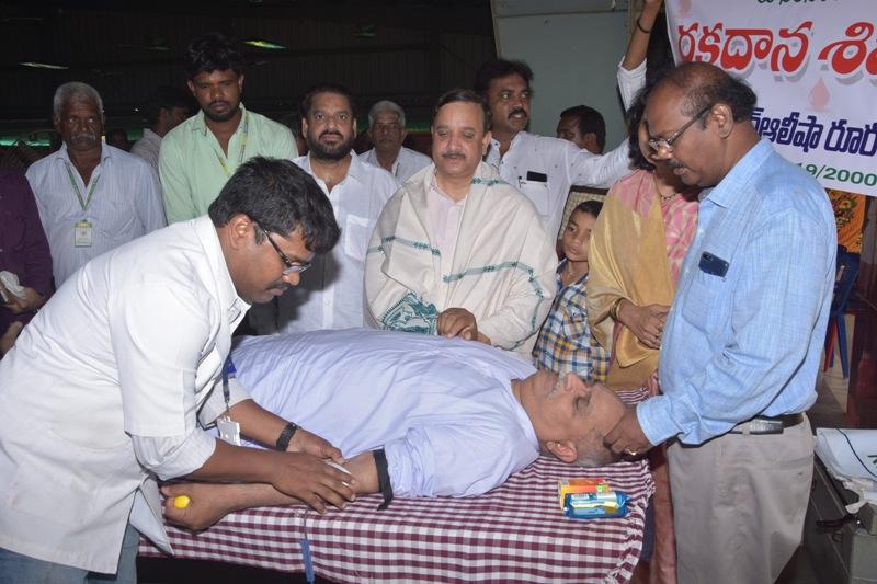 Blood donation camp in Ugadi Sabha (3)