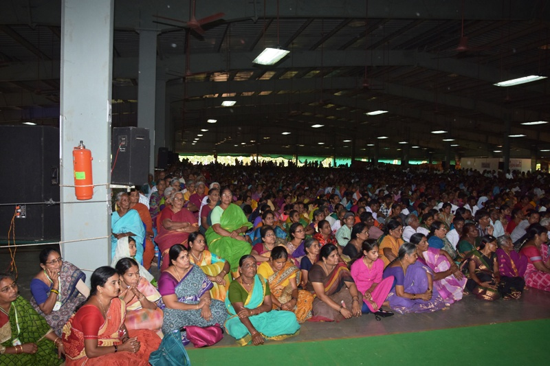 Disciples attended in Ugadi Sabha (3)