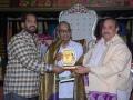 Felicitation to Mr.Yadida Subhramanyam by sathguru Dr.Umar Alisha