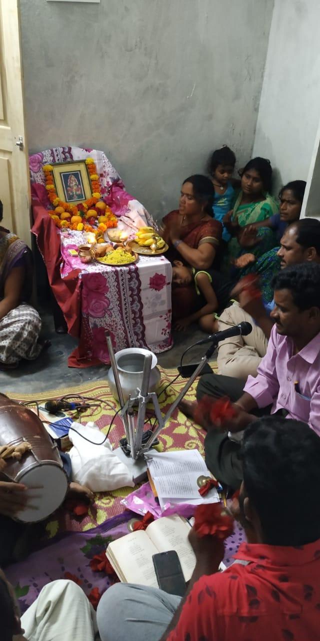 India-Aaradhana at Balighattam Village on 15-Feb-2020