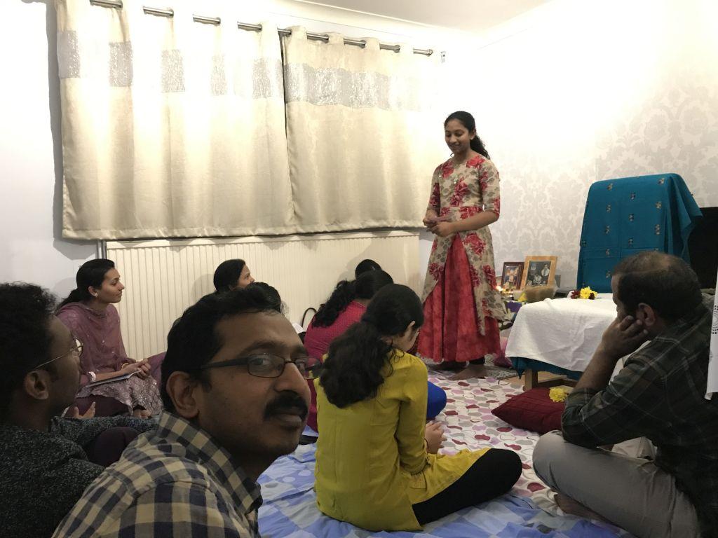 Aaradhana at London on 26th Jan 2019