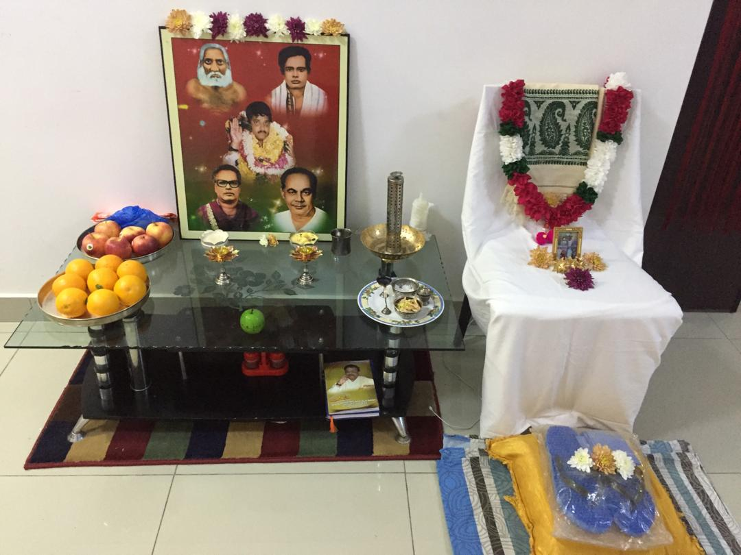 Aaradhana at Malaysia 20-Oct-2018