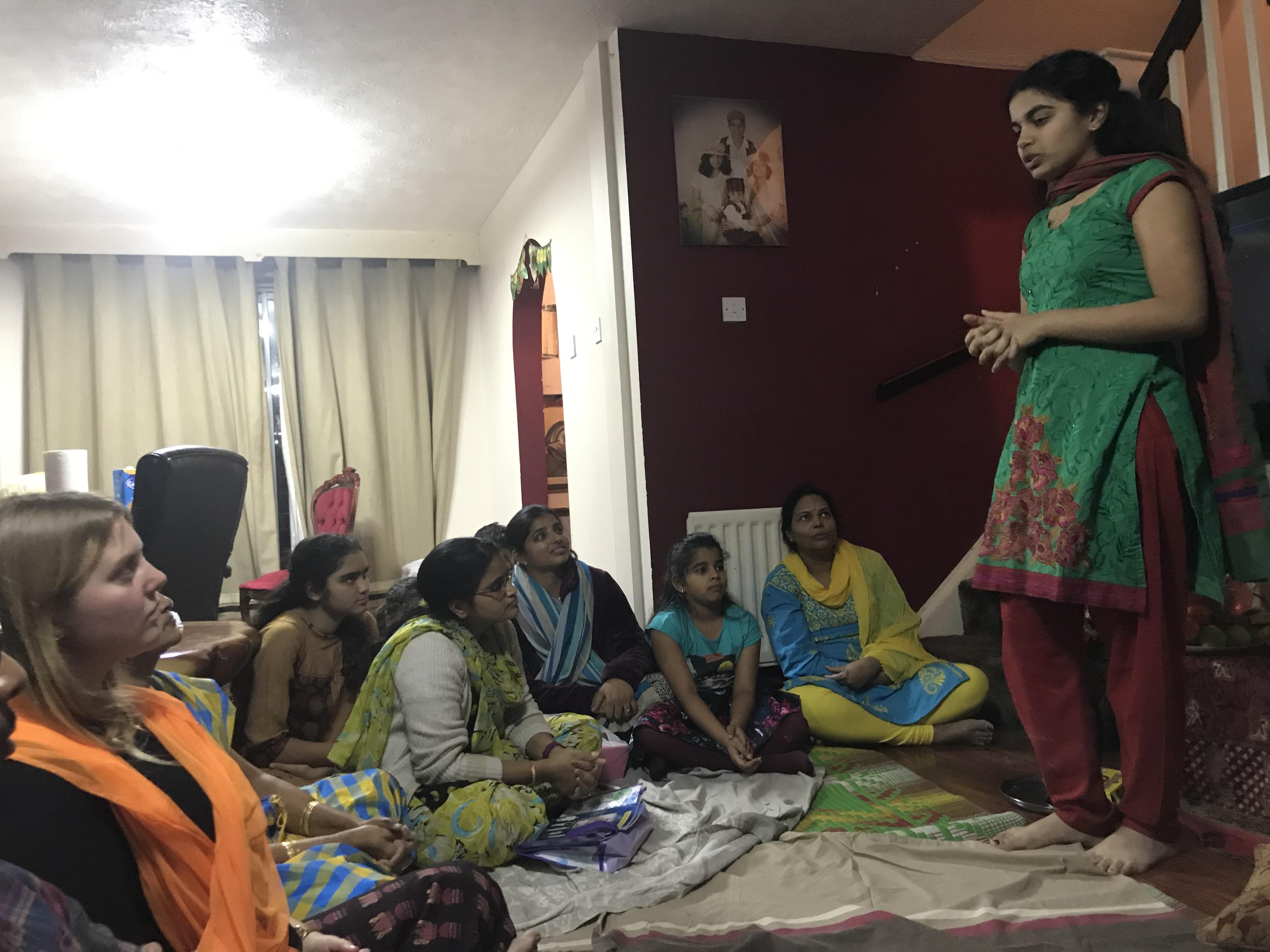 London Aaradhana at Mrs.Gubbala Bagyalakshmi's house on 1st Dec 2018