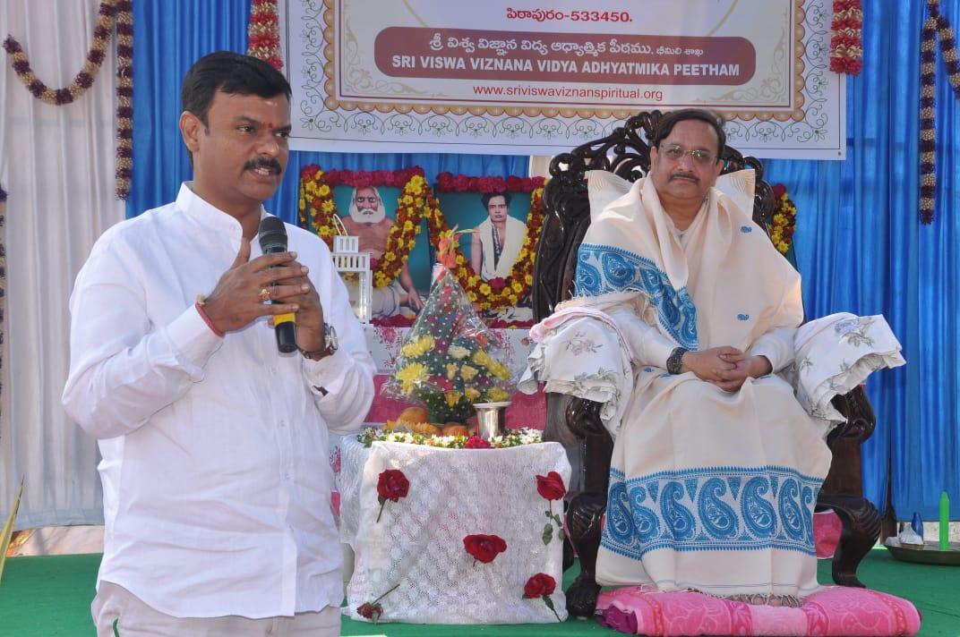 Speech by Mr. P.V.N. Madhav MLC Visakhapatnam.