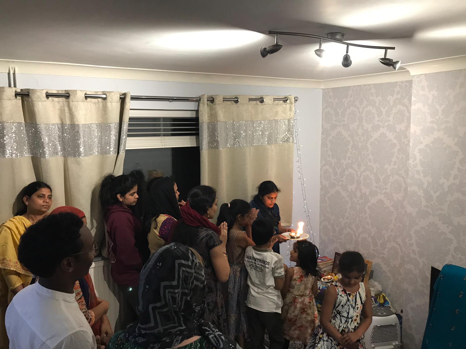 London Aaradhana at Mr.Krishna Kishore Yerra's house on 25th May 2019