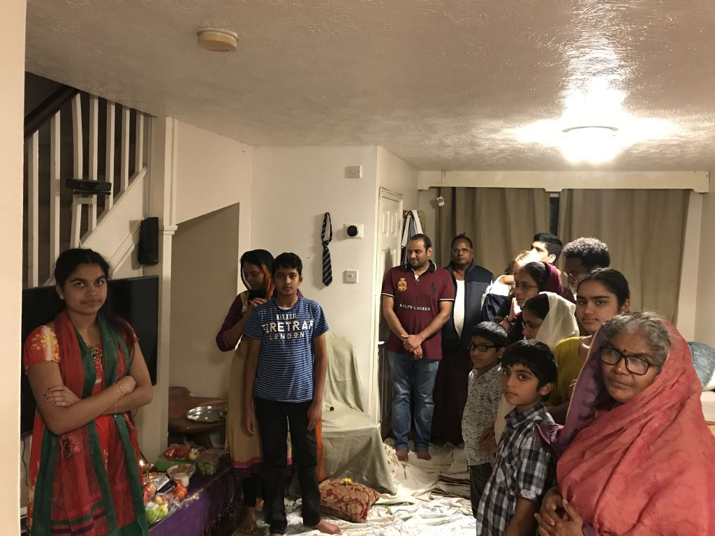London Aaradhana at Mrs.Gubbala Bagyalakshmi's house on 17 Aug 2019