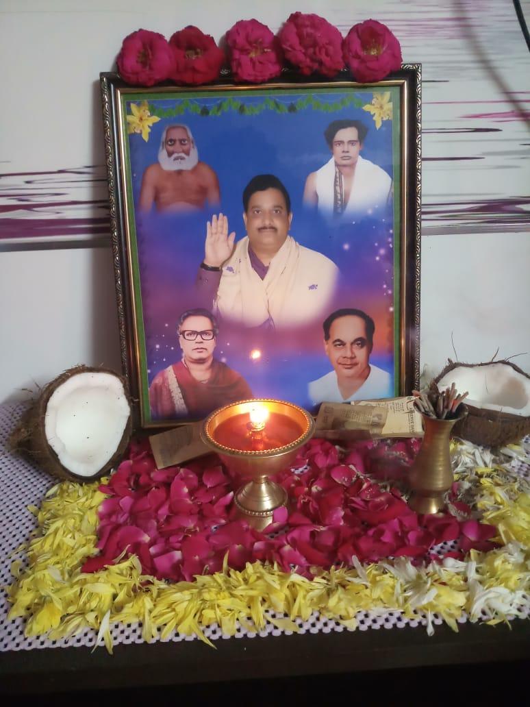 ది.6 సెప్టెంబర్ 2019 గురువారం స్వామి ఆరాధనా కార్యక్రమం సికింద్రాబాద్ జోన్ లో శ్రీ బొట్టా ఉషారాణి గారి స్వగృహంలో నిర్వహించబడినది