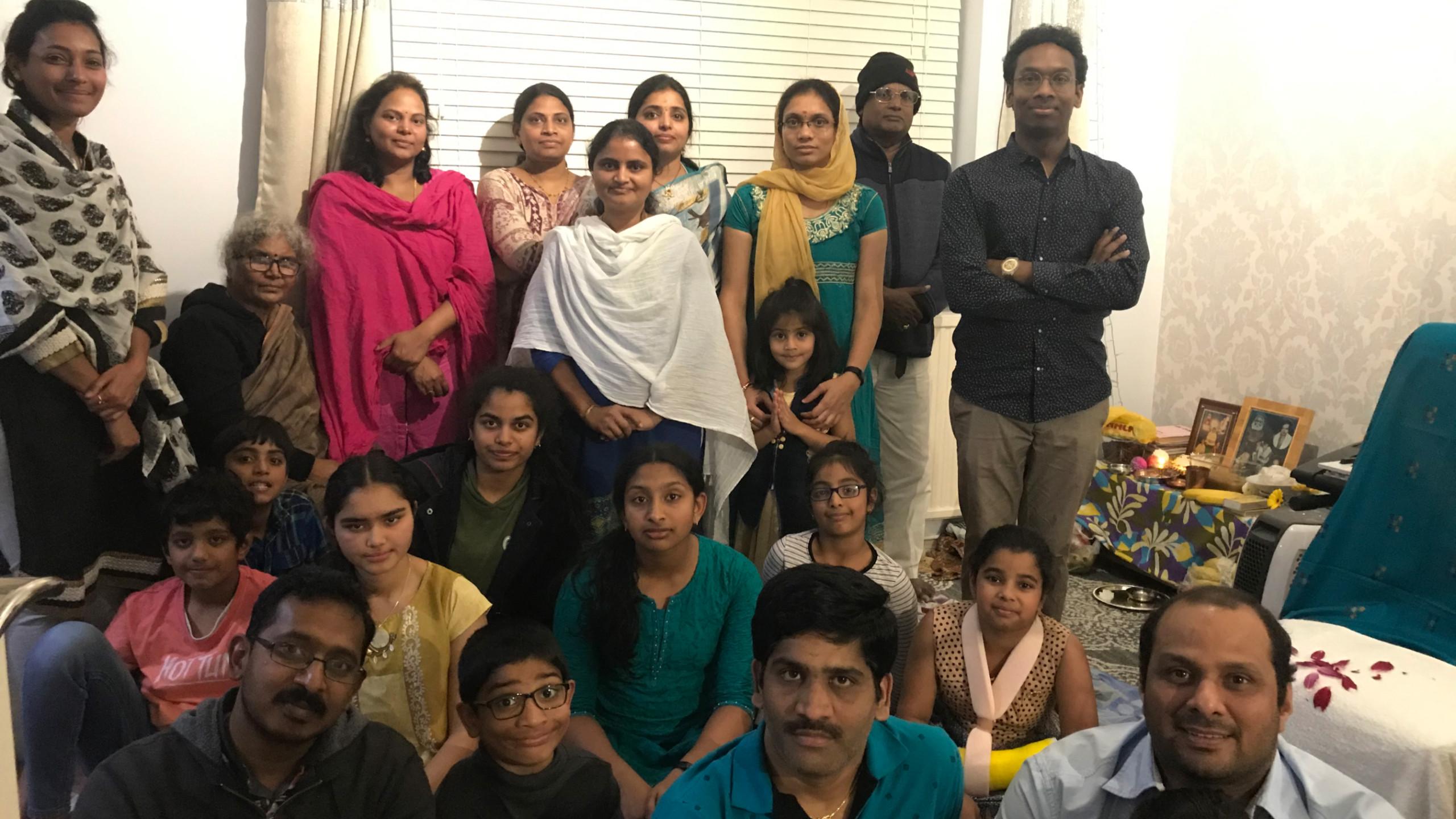 London Aaradhana at Mr.Krishna Kishore Yerra's house on 5th Oct 2019