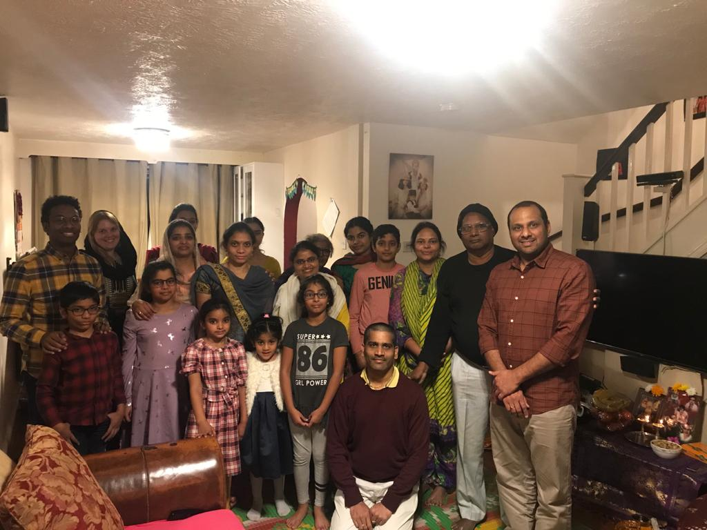London Aaradhana at Mrs.Gubbala Baghyalakshmi's house on 16th Nov 2019