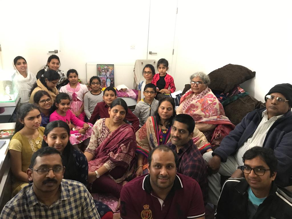 London Aaradhana at Mr.Kakarlapudi Satish Varma's house on 21 Dec 2019