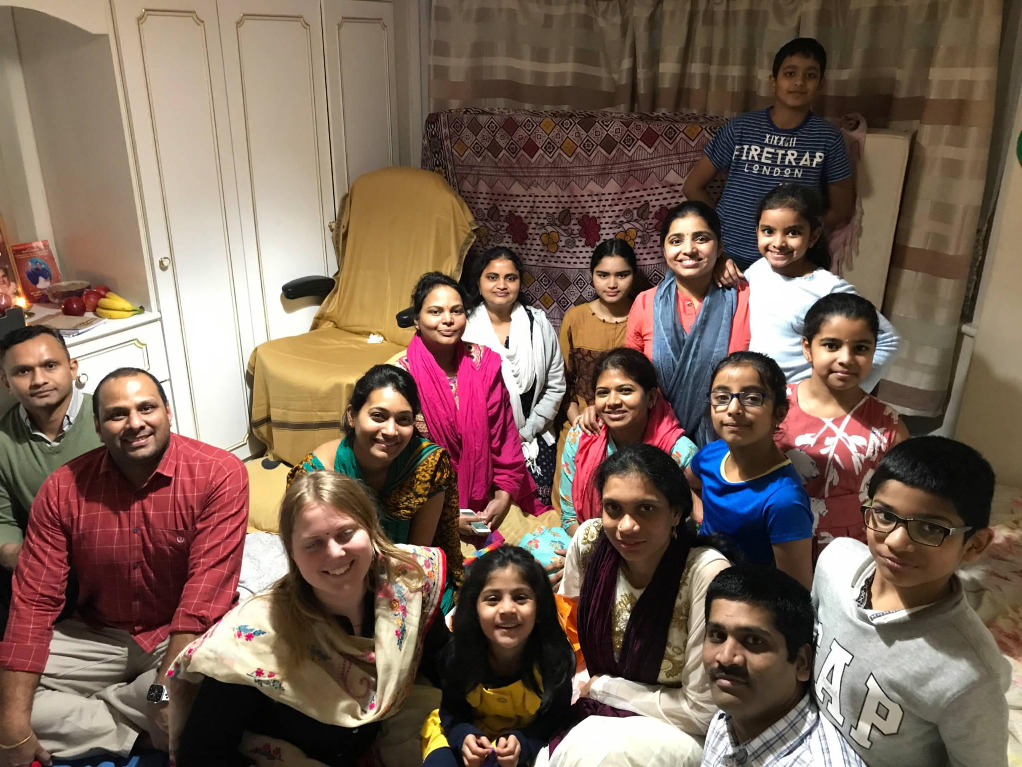 London – Monthly Aaradhana at Mr.BulliRaju's house on 11-Jan-2020