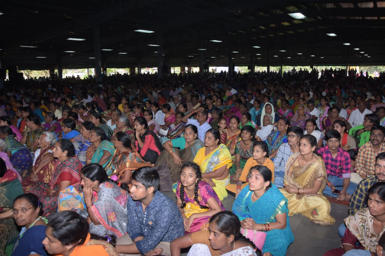 Disciples attended on the 3rd day of MahaSabha , 11th Feb 2020