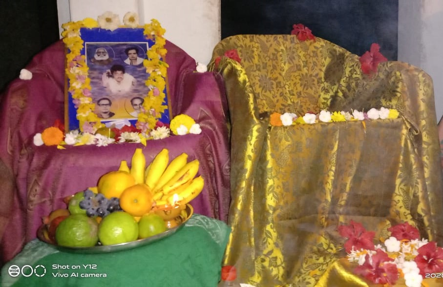 India-Thetagunta-Aaradhana conducted at Smt.Anjuuri MahaLakshmi home on 7th March 2020