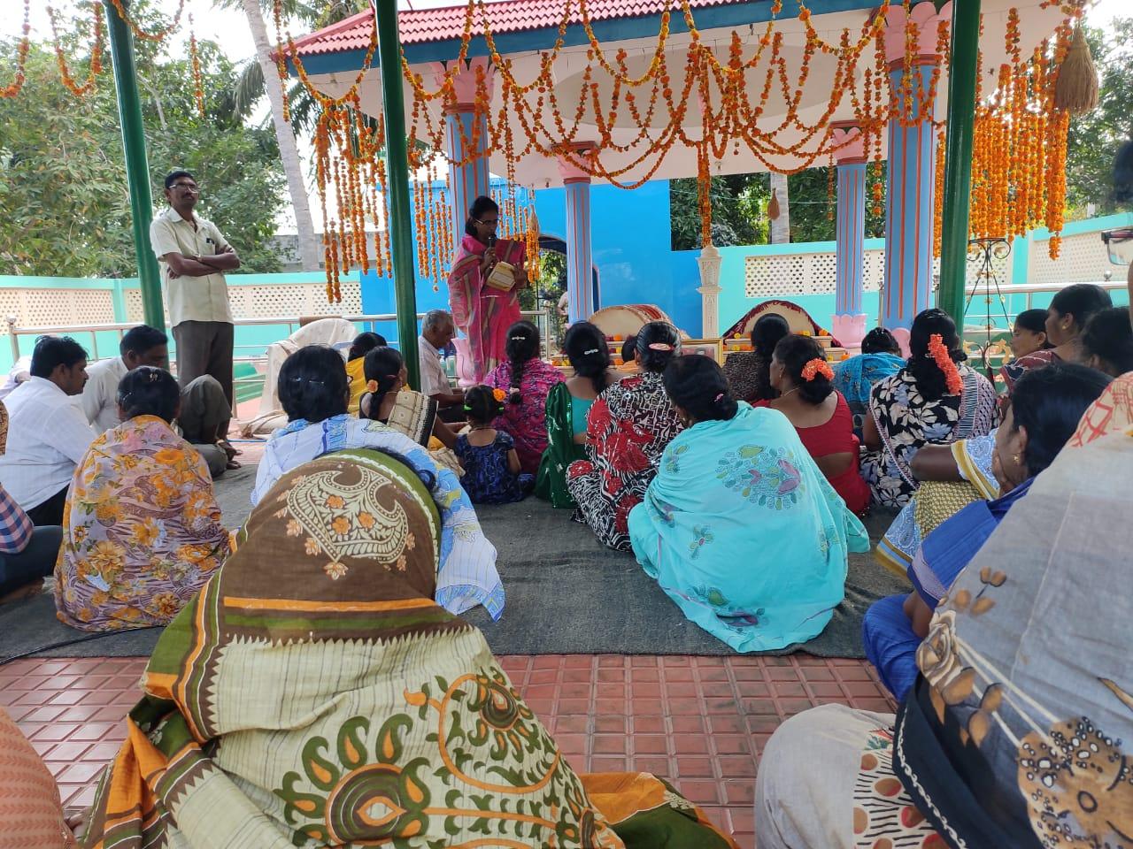 India-Aaradhana conducted at Sri Kahene Sha Vali Ashram, Tuni on 9th March 2020