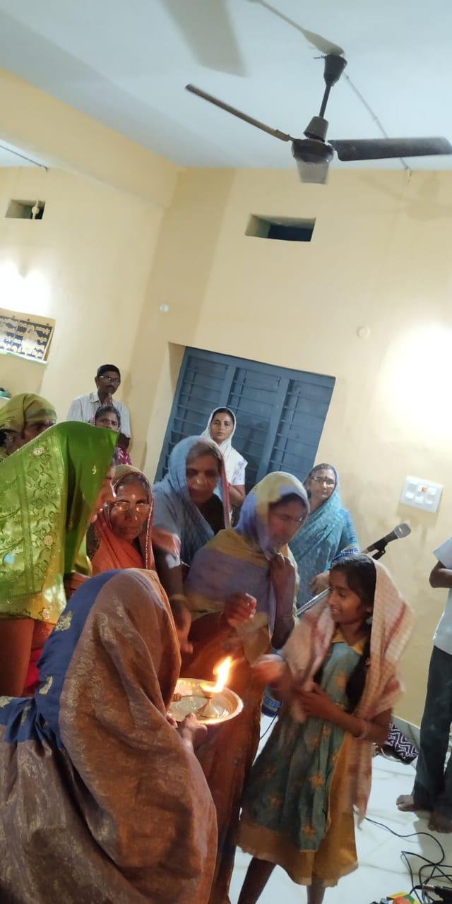 12th March 2020 Weekly Aaradhana at Jagannadhapuram ,Kotananduru Mandal,E.G.Dt