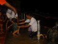 Volunteers assisting at Godavari Puskharalu 7th day, 20th Jul 2015 Gowthami ghat, Rajahmundry