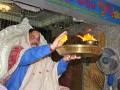 Dr. Umar Alisha offering Harathi on 23 Jul 2015, 10th day of Godavari Pushkaralu at Rajahmundry Ashram