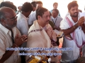 Sathguru Dr.Umar Alisha special prayers at VIP ghat , Rajahmundry on 12th day of Godavari Pushkaralu