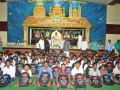 ​Distribution of school bags by peethadipathi Dr.Umar Alisha sathguruvaryulu to 125 students of R.R.BH,R BC boys hostel pithapuram