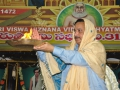 Offering Harathi by Sathguru Dr.Umar Alisha in Guru Pournima Sabha - Pithapuram New Ashram 31-Jul-2015, 09:00am IST