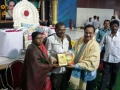 "Inaguration of the book ""Jnana Darshini"" written by Sri.S.R.Ballam ; Guru Pournima Sabha - Pithapuram New Ashram 31-Jul-2015"