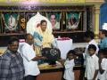 Distribution of school bags by peethadipathi Dr.Umar Alisha sathguruvaryulu to 125 students of R.R.BH.R BC boys hostel pithapuram