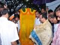 Sri.Thota Narsimham,M.P.(Kakinda) opening inauguration plate on the occassion of unveiling statue of Kavisekhara Dr.Umar Alisha ( 6th head of peetham)