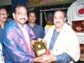 Satghru Dr.Umar Alisha is presenting memento to Sri. Thota Narasimham ( M.P., Kakianda)