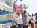 Sathguru Dr.Umar Alisha inaugurating Water Kiosks (Chalivendram)