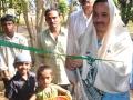 Sathguru Dr.Umar Alisha inagurates renovated hut of Sri Mohiyuddin Basha