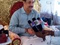 Sathguru Dr.Umar Alisha  delivering  speech to press
