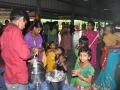 Milk distribution for children