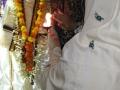 Sathguru Dr.Umar Alisha offering Harathi in Sai temple in  Karthika Masam Tour - Gummuluru
