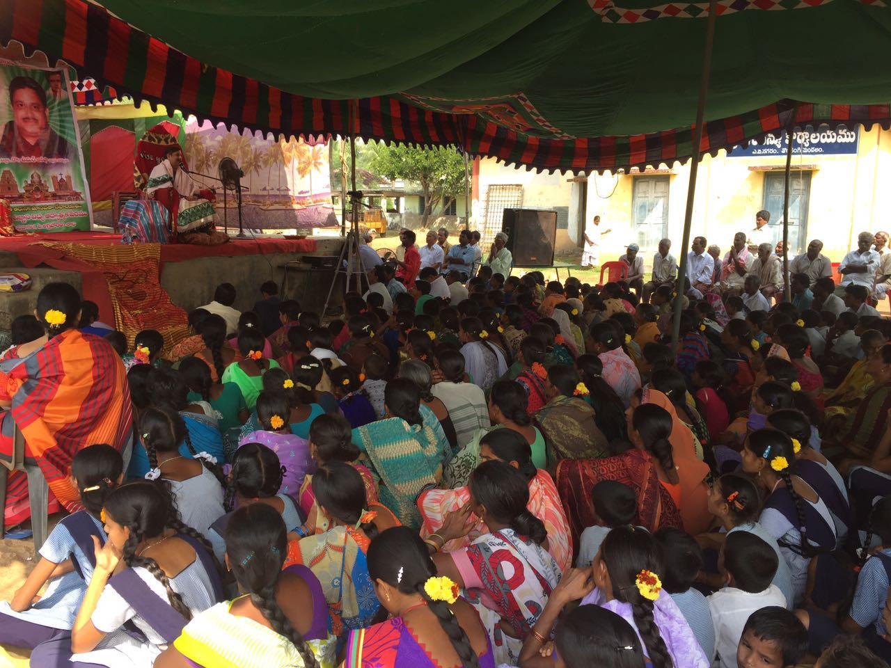 Disciple attended in  Karthika Masam Tour - A.V.Nagaram, East Godavari District, AP