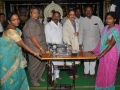 Distribution of sewing Machine  to poor people in Karthika povurnamisabha