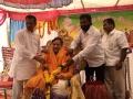 Sri Yanamala krishnudu felicitating Sathguru Dr.Umar Alisha in  Karthika Masam Tour - Vakadaripeta, East Godavari, AP