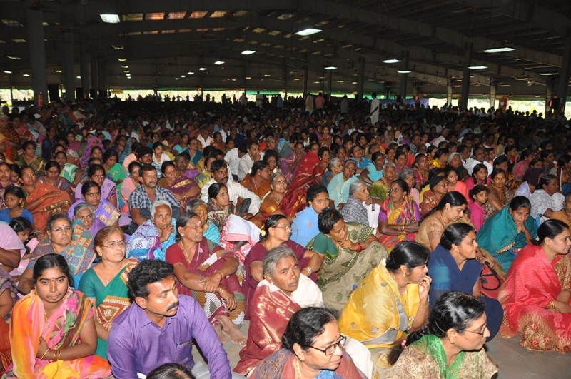 Disciple attended on the occasion of New Year Sabha 2017