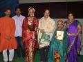 Sathguru Dr.Umar Alisha has presented momento to ThoranaSri and Bhagyasri for their Kuchipudi dance performance