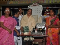 Distribution of sewing machine by Dr.Umar Alisha , contributed by Peruri Vikram via UARDT