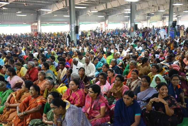 Disciples attended - 9th day Maha Sabha  2017