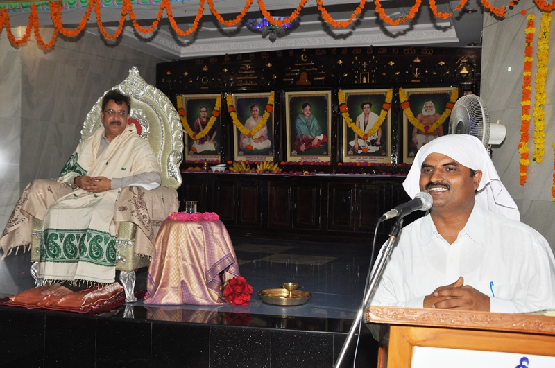Speech delevered by Sri Nataraj Hyderabad